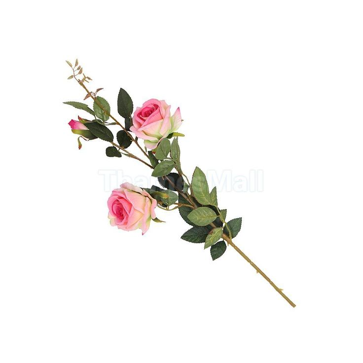 Artificial Rose Silk Foral Wedding Home Flower Arrangement Decor Light Pink