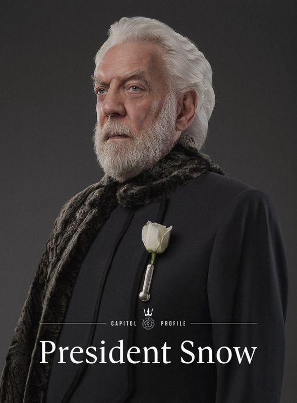 donald sutherland president snow - Google-haku