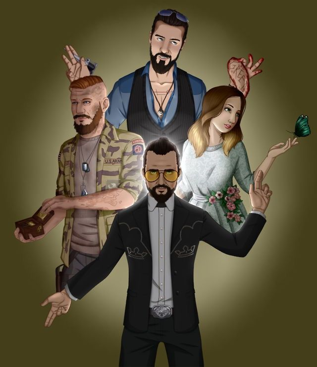 Seed Family Far Cry Game Crying Far Cry 5