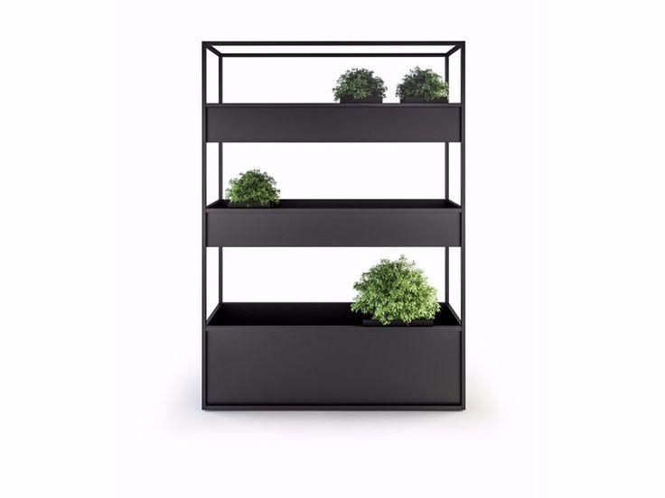 Metal planter CARL PLANTERS 1400 3 BOX by Röshults