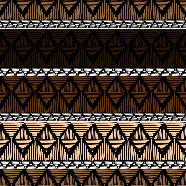 Tribal Vector Seamless Pattern With Geometric Ornament Aztec Abstract Art Seamless Mexican Pattern Png And Vector With Transparent Background For Free Downlo Geometric Pattern Background Seamless Patterns Abstract