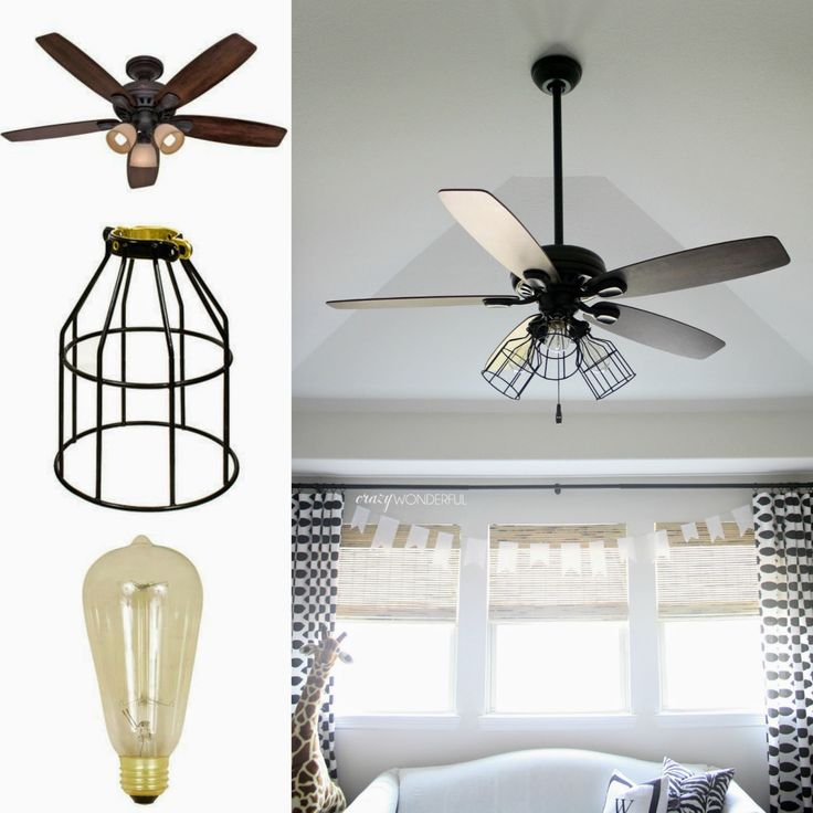 25+ best Ceiling fan makeover ideas on Pinterest | Designer ...