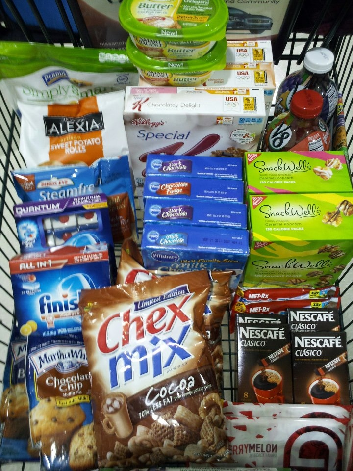 Harris Teeter Super Doubles 1/7/13 Total Before Coupons $99.55 Total After Coupons $9.97. Not a bad deal at all considering the main thing I went for was the Meal Deal that is 8.99 itself....but you know that isn't what I paid for it.