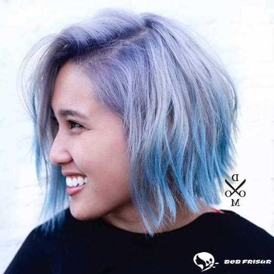 10 erstaunliche blaue und lila Haare sieht 2019-2020