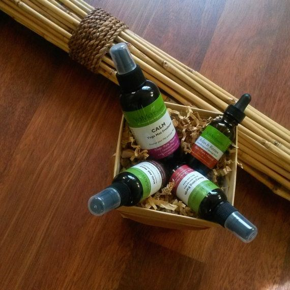 Aromatherapy Gift Set.  Organic Gift Basket. by YoMoEssentials  #Christmasgift #greengift #ecogift