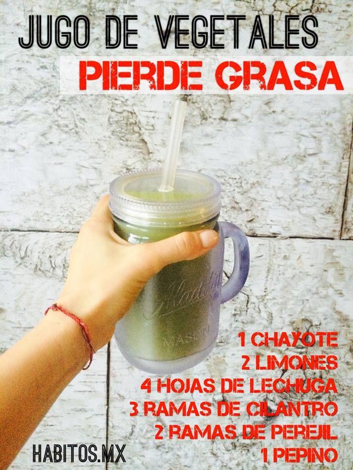 Jugo de vegetales pierde grasa #smothies #batidos