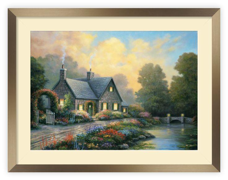 """Tablou """"Evening Splendor"""" http://www.artfoyer.ro/evening-splendor.html"""