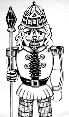 94 best nutcracker images on pinterest nutcrackers xmas for Nutcracker coloring pages printable