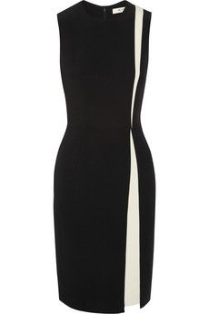 Etro Two-tone stretch-jersey dress | NET-A-PORTER