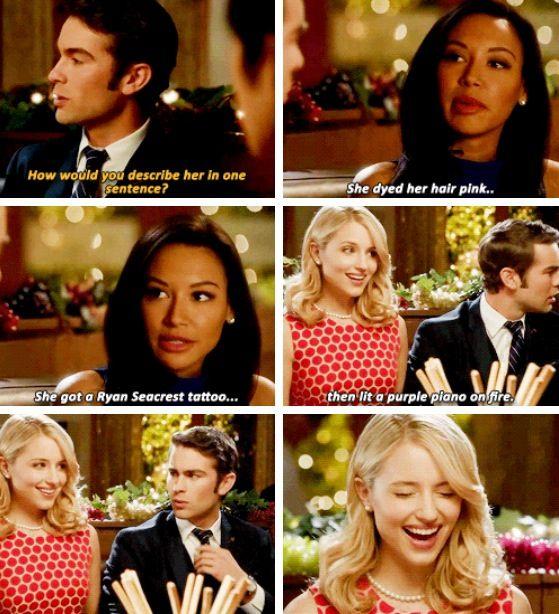 Santana tries to sabotage Quinn's relationship with Biff McIntosh