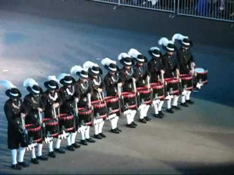 Edinburgh tattoo 2009 Top Secret Drum Corps- so very cool! A must watch!