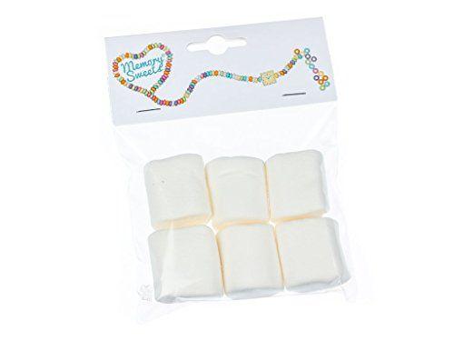 MemorySweets – Sachet rétro de bonbons – guimauves américaines: Les guimauves typiques ! Elles sont idéales pour faire griller au barbecue…