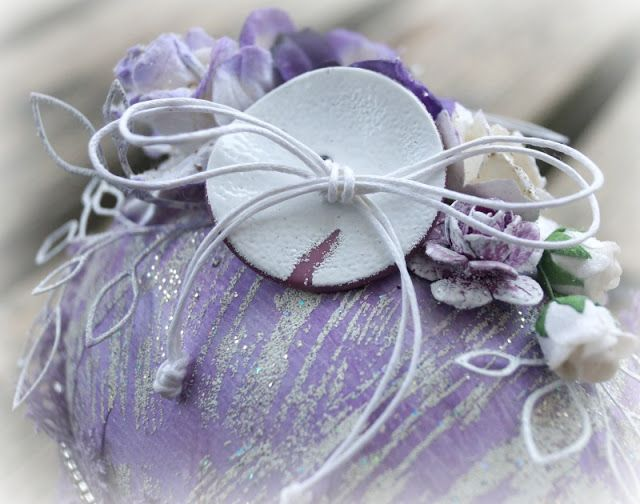Mitt Lille Papirverksted: Purple Easter Egg
