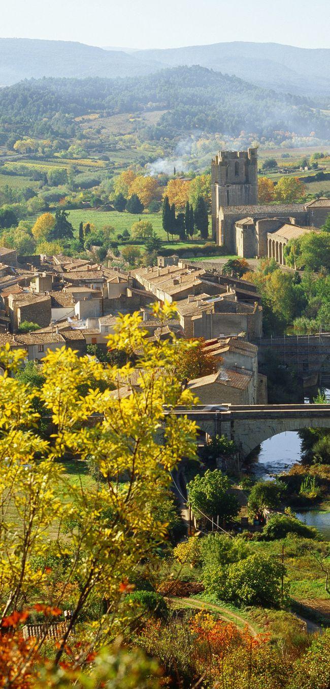 Village de Lagrasse, Languedoc-Roussillon, France