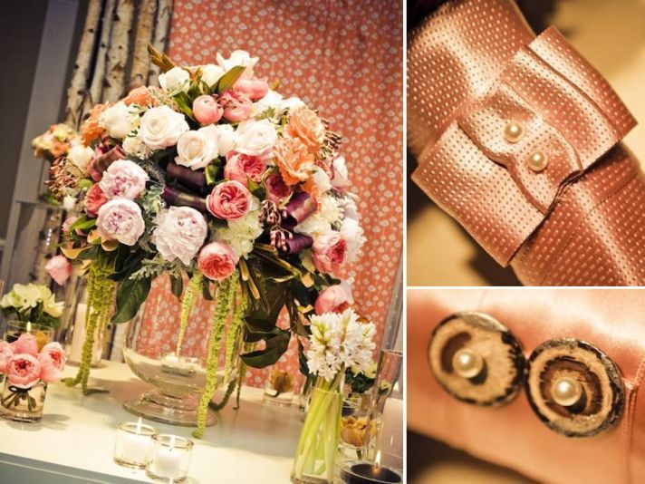 Stunning Vintage Chic Wedding Reception Centerpieces And Romantic Bridal Bouquets
