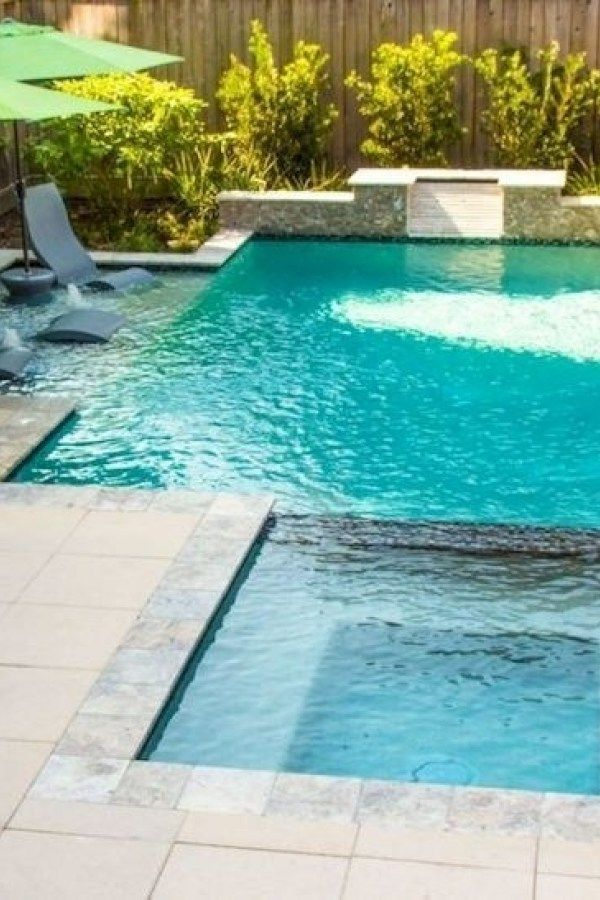 Cozy Swimming Pool Garden Design Ideas On A Budget 21 Small Pool Design Pool Landscaping Swimming Pool Designs