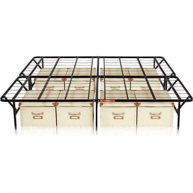 Best 25 platform bedroom ideas on pinterest studio bed for Raised full bed frame