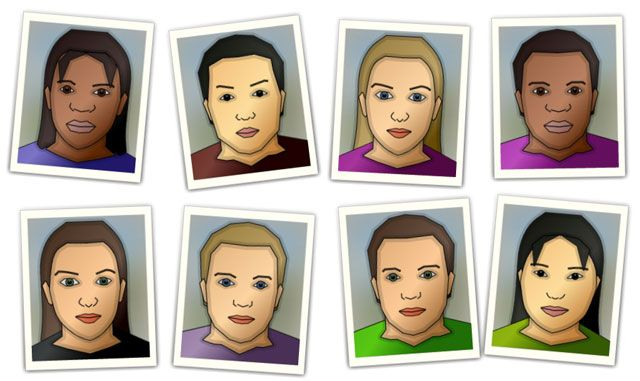 Got a few minutes? You can selectively generate a face that resembles you.