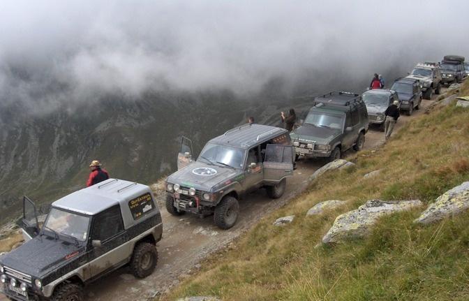 Offroad jeep tour in Romania's Mountains