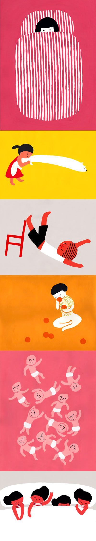 Sato Kanae Illustration. www.amamillo.com