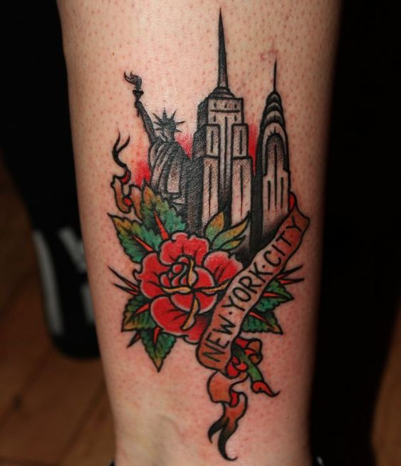 Best 25+ New York Tattoo Ideas On Pinterest