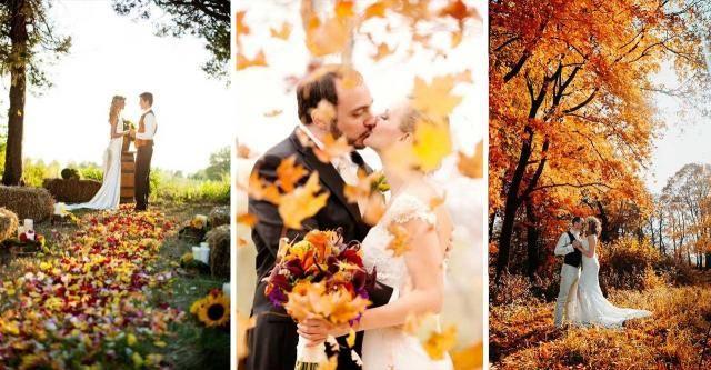 Te pary postanowiły zrobić sobie ślub jesienią i na pewno tego nie żałują