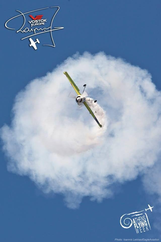 Jurgis Kairys' Su-31 at Athens Flying Week #JurgisKairys #VostokEurope #VichosWatches #aviation #pilot #aviator #AthensFlyingWeek