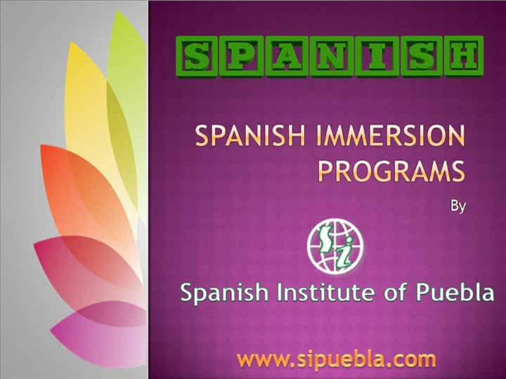 Spanish Institute of Puebla is offering best Spanish Immersion Programs in Mexico. Watch this video to get complete information.