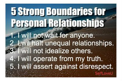 Self Love U: 5 Strong Boundaries for Personal Relationships [Article]