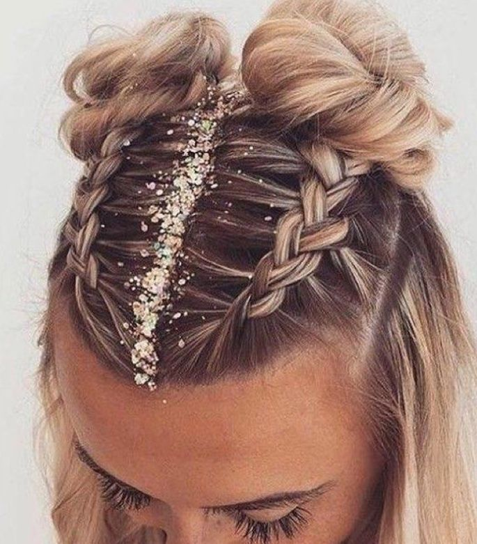 Holiday Hairstyles Nye Hairstyles Romantic Braided Hair Hair Styles