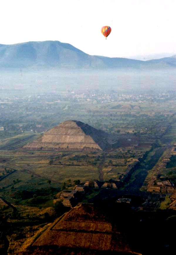 "The precolombian pyramids of Teotihuacan, Mexico - This is worth doing, on my ""do it again"" list ~mermaid"