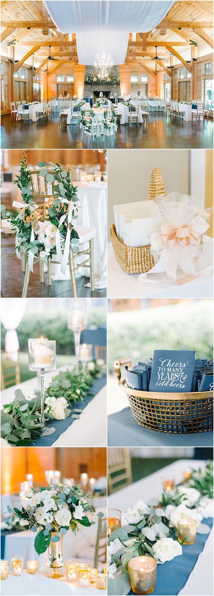 Featured Photographer: Aaron and Jillian Photography; wedding reception idea