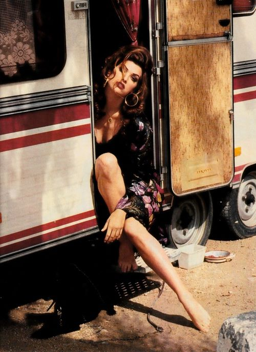 'Gipsy Queen' Elle France July 1992 feat Shana Zadrick
