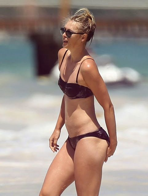 Maria Sharapova in a black bikini on the beaches of Cancun  Getting A Little Hot Down Up Under There Maria.. Let A Trained Medical Professional Take a Look maria sharapova | Maria Sharapova In A Bikini At The Beach In Cancun | Hot Celeb Pics ...#Tennis #Eye-Hand #Russian #LiveFeeds #Sports #thermoregulation #Cancun #Tropical #Meteorology #Atmosphere