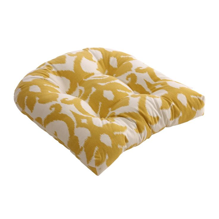 Pillow Perfect Azzure Marigold 19 X In Chair Cushion