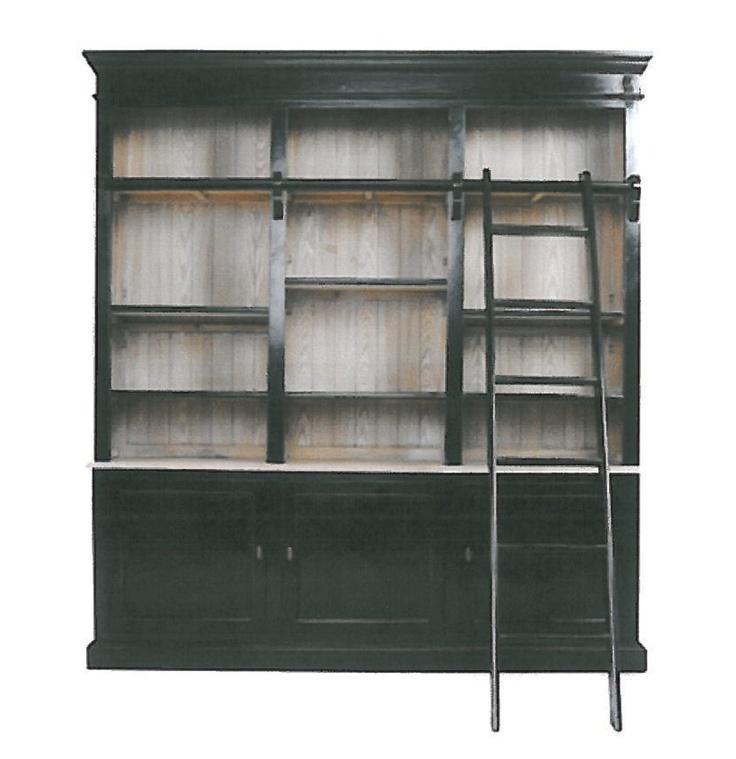 die besten 25 bookcase with ladder ideen auf pinterest. Black Bedroom Furniture Sets. Home Design Ideas