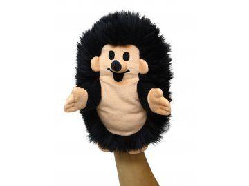 Plyšový Ježek 23cm, černý maňásek - plyšové hračky