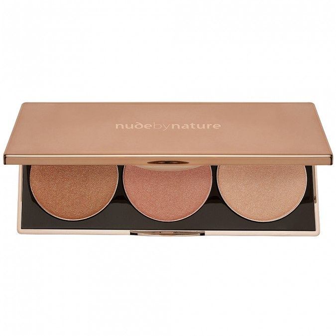 The perfect palette for easy highlighting of the face