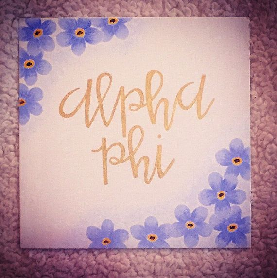 Sorority Canvas