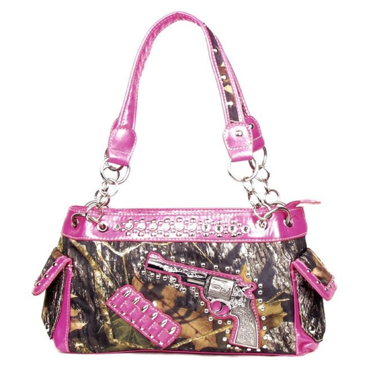 handbags bling amp more western one pistol gun pink