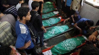 15 muertos y 35 heridos en un ataque israelí en Gaza