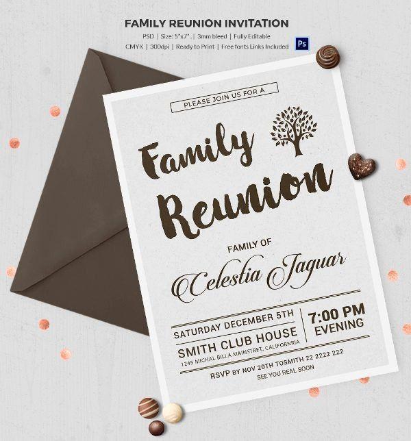 Luxury Best 25 Family Reunion Invitations Ideas On Pinterest Reunion Invitations Family Reunion Invitations Invitation Template