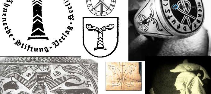 Pentagram i symbole Mroku