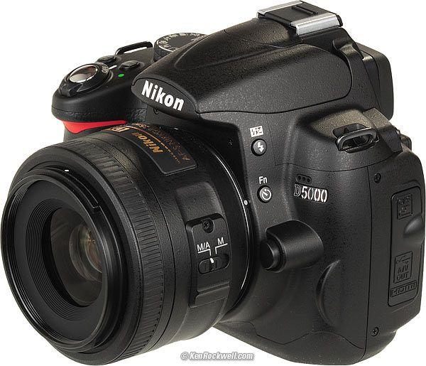Nikon D5000 Autofocus Settings