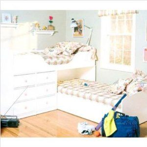 shaped bunk bed for low ceiling room.  I could do THAT!  Pinterest