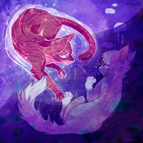 Oakheart and Bluestar by Meow286