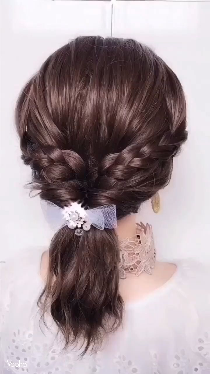 UNIQUE HAIRSTYLE IDEA#hairstyle #idea #unique