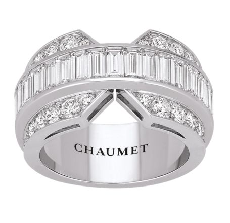Bridal Chaumet   Joséphine band ring