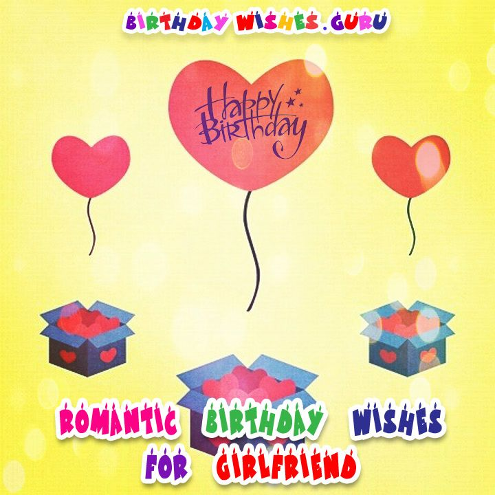 Birthday Quotes For Girlfriend Romantic : Best ideas about birthday wishes for girlfriend on