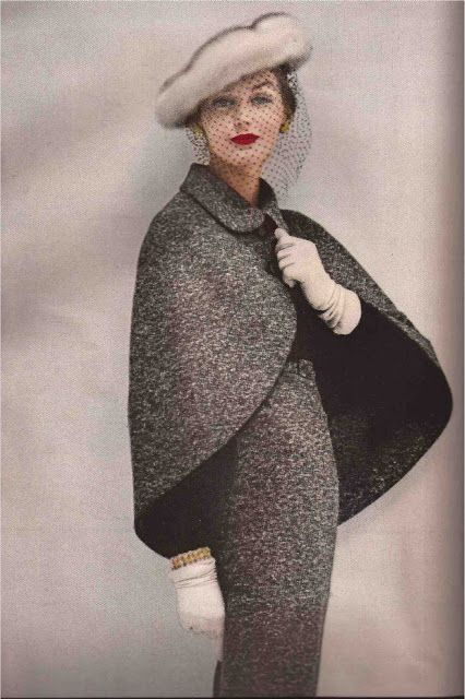 The Cape Suit TRAINA-NORELL 1956